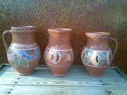 Глиняная посуда ручной работы