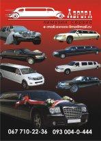 Аренда,  прокат,  заказ лимузинов. Свадебные авто.
