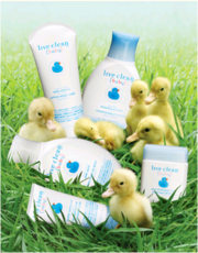 Live Clean BABY экологически чистые средства для ухода за кожей малыша