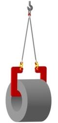 Захват для рулонов стали – работает в паре,  от ГПО-Снаб в Украине.