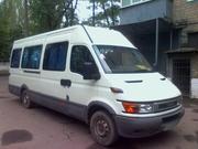 Микроавтобус на свадьбу белый Iveco