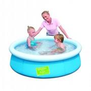 Детский бассейн объемом воды (80%) 477 л