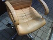 Реставрация офисного кожаного кресла