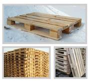 Европоддоны в наличии деревянные