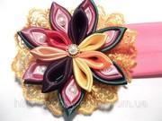 Цветы канзаши. Мастер-класс