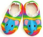 Забавные носочки-следочки с тормозками для деток