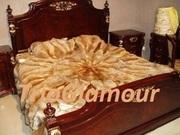 Пошив меховых пледов,  покрывал,  ковров,  подушек в Донецке !Лучшие цены
