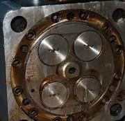 ротор ТК 18 новый,  ротор ТК 23 б/у,  ротор ТК 30 б/у  крышка 5д49,