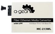 Медиаконвертер WDM 10/100 20km SC (пара)