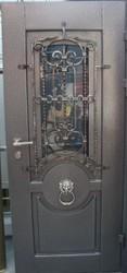 Входные двери из метала
