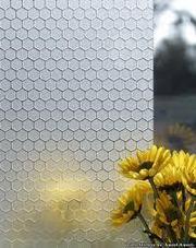 Пескоструйная декоративная обработка стекла или зеркала