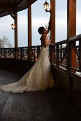 Модельное свадебное платье