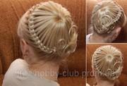 Плетение французских кос. Мастер-класс.