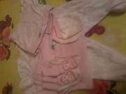 костюмчик для новорожденной