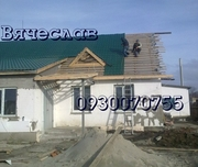Строительство и монтаж скатной кровли в Донецке