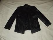 Продам мужской кожаный пиджак в отличном состоянии