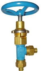 Клапан запорный сетевой КС-7142-04,  КС-7143,  КС-7144