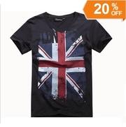 Футболка Английский флаг - Британский флаг