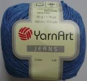 Пряжа хлопок Yarn Art Jeans в интернет-магазине Злата Пряжа