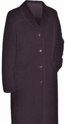 Пальто драповое,  новое,  с меховым воротником