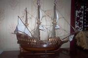 модель судна ручной работы Golden Hind