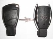 Замена корпуса «маленькая рыбка» Mercedes-Benz на «рыбку» хром
