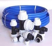 Трубы ПЭ(80, 100) и фитинги для наружного водоснабжения Донецк