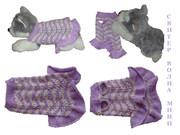 Одежда животным платье Волна мини в интернет-магазине Злата Пряжа