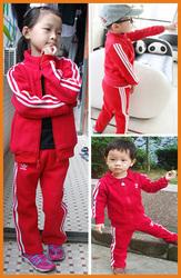 Детский спортивный костюм Адидас,  красный