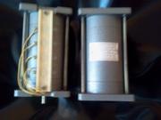 Электродвигатель 2АСМ-400 220/50 новый