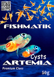 Яйца артемии Fishmatik Premium class 50 г