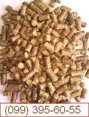 Топливные гранулы (пеллеты) из сосны