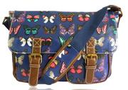 Женская  сумка-ранец на ремне в стиле винтаж. Две актуальные модели.