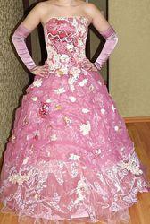 Выпускное платье средней пышности