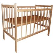 Недорогие деревянные детские кроватки Донецк,  цены 270 - 370 грн.