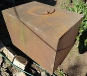 Металлический бак V=184 литра (0, 184 м/куб) в отличном состоянии