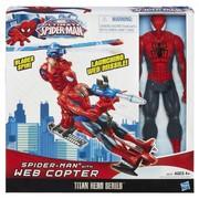 Человек паук (spider man) + спайдер вертолет