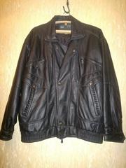 Куртка под кожу,  размер 52-54,  б/у