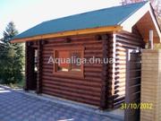 Строительство деревянных домов Донецк и область